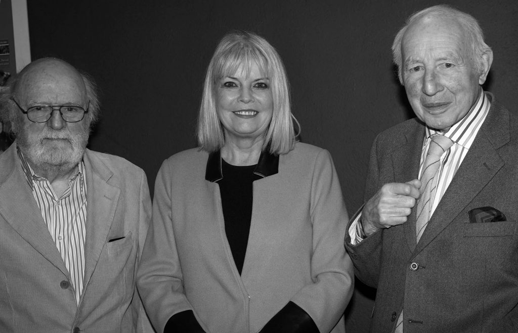 L-R Chairman David Hussey, Minister Mary Mitchell O'Connor, and Noel Tierney